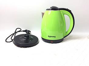 Электрический чайник Rainberg 2 л зелёныйцвет