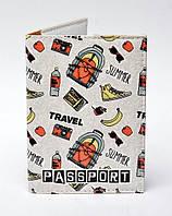 """Обложка на паспорт """"Travel summer"""""""