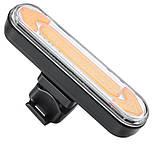"""Ліхтар велосипедний """"STOP"""" із зазначенням поворотів (червоний+жовтий), ЗУ micro USB, вбуд. акум., пульт керування, фото 4"""