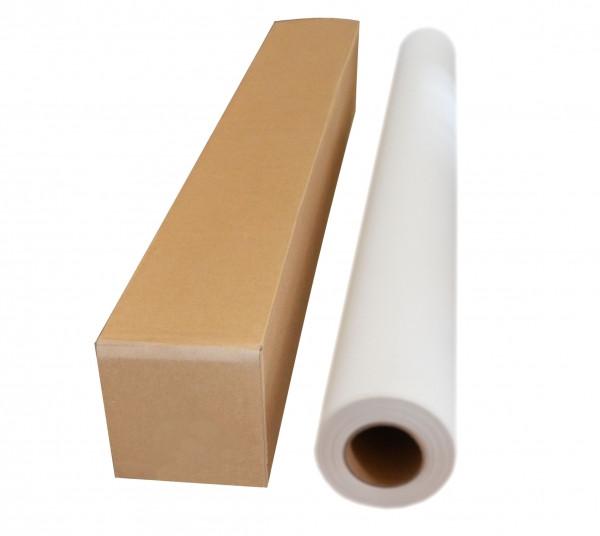 Текстильный синтетический материал (полиэстер) для струйной печати, матовый, 110 г/м2, 1270 мм х 30м
