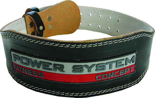 Ремень для тяжелой атлетики Power System Black 10см