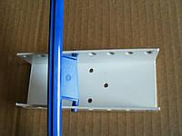 Кронштейн металлический для рамочной перекидной системы на стену