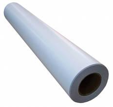 Широкоформатний глянцева плівка для холодної ламінації, 140 г/м2, 1520 мм х 50 метрів