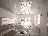 Потолки в стоматологическую клинику , фото 1