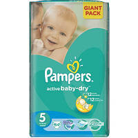 Подгузник Pampers Active Baby-Dry Junior (11-18 кг), 64шт (4015400736370)