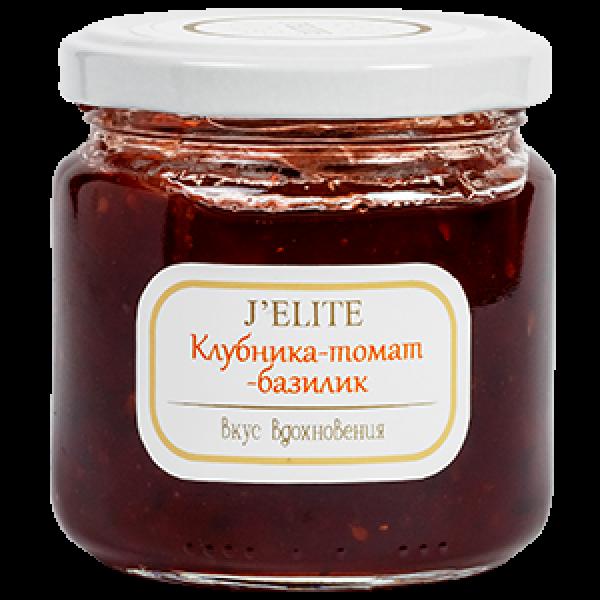 Джем Клубника-томат-базилик J`ELITE 220г