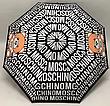 Зонт напівавтоматичний складной Moschino Toy Bear чорний, фото 4