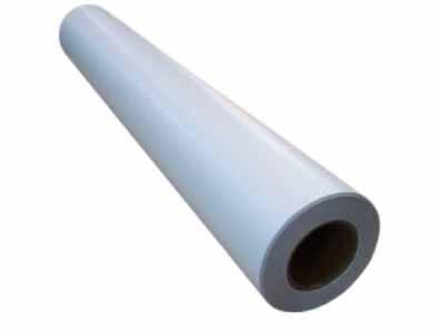 Широкоформатная полипропиленовая пленка для струйных принтеров, белая, матовая, 130 г/м2, 1067 мм х 30 м