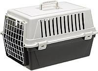 73007199 Ferplast Atlas EL Переноска для котов и собак черная, 32,5х48х29 см