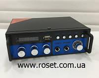 Підсилювач звуку UKC SN-666BT FM USB, Bluetooth + Караоке