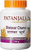 Шатаварі чурна (порошок), Патанджалі, 100г., Shatavari churna Patanjali, Шатавари чурна Патанджали, тоник і