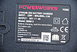 Аккумуляторная цепная пила Powerworks 82V 2000313 / Greenworks 82V GD82CS50 с АКБ 5 Ач и ЗУ, фото 9