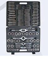 Набір мітчиків і плашок 110пр. Forsage F-B110-1 (метрич.) в пласт. кейсі