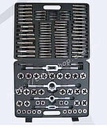 Набор метчиков и плашек ПромИнструмент М2-М18  110 предм.