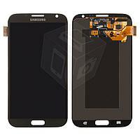 Дисплей + touchscreen (сенсор) для Samsung Galaxy Note 2 N7100, оригинал, серый