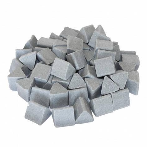 Галтовочные тела (наполнитель для галтовки) керамический треугольник №16 20х20 мм (RXXD 20/20 D), фото 2