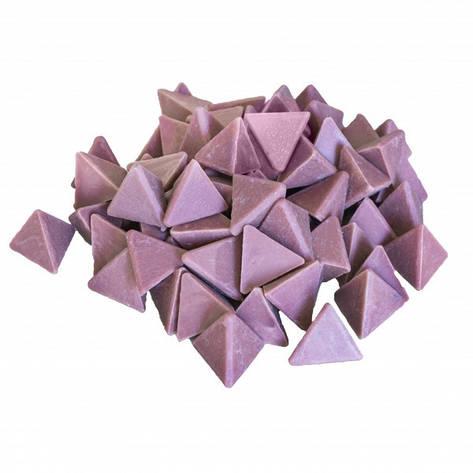 Галтовочные тела (наполнитель для галтовки) пластиковый пирамида №3 50 мм (RKМ 50Р), фото 2