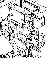 Крышка шестерен (ГРМ) 3716C573 Perkins, Перкинс, Перкінс, Запчасти Перкинс, Запчасти Perkins, ремонт Перкинс, двигатели Perkins