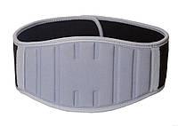 Пояс для важкої атлетики PowerPlay 5425 Сірий (Неопрен) XL