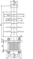 Изолятор ОСК 16-35-А08-2 УХЛ1