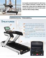 """Профессиональная электрическая беговая дорожка """"Luxon Pro LS T-800"""" TouchScreen"""