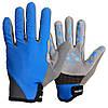 Велорукавички PowerPlay 6566 Сині M