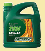 Моторное масло Fanfaro TSN SAE 10W40 (5L)