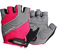 Велорукавички PowerPlay 5023 Рожеві XS, фото 1