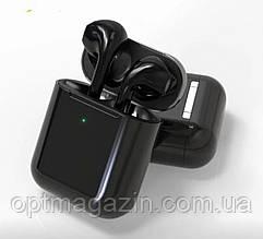 Сенсорні бездротові Bluetooth-навушники i20 XS Black Original