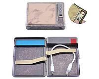 Портсигар-зажигалка USB №8001