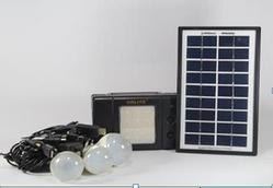 Фонарик с солнечной батареи USB порт 3 подвесные лампочки USB кабель с переходниками GD 8076