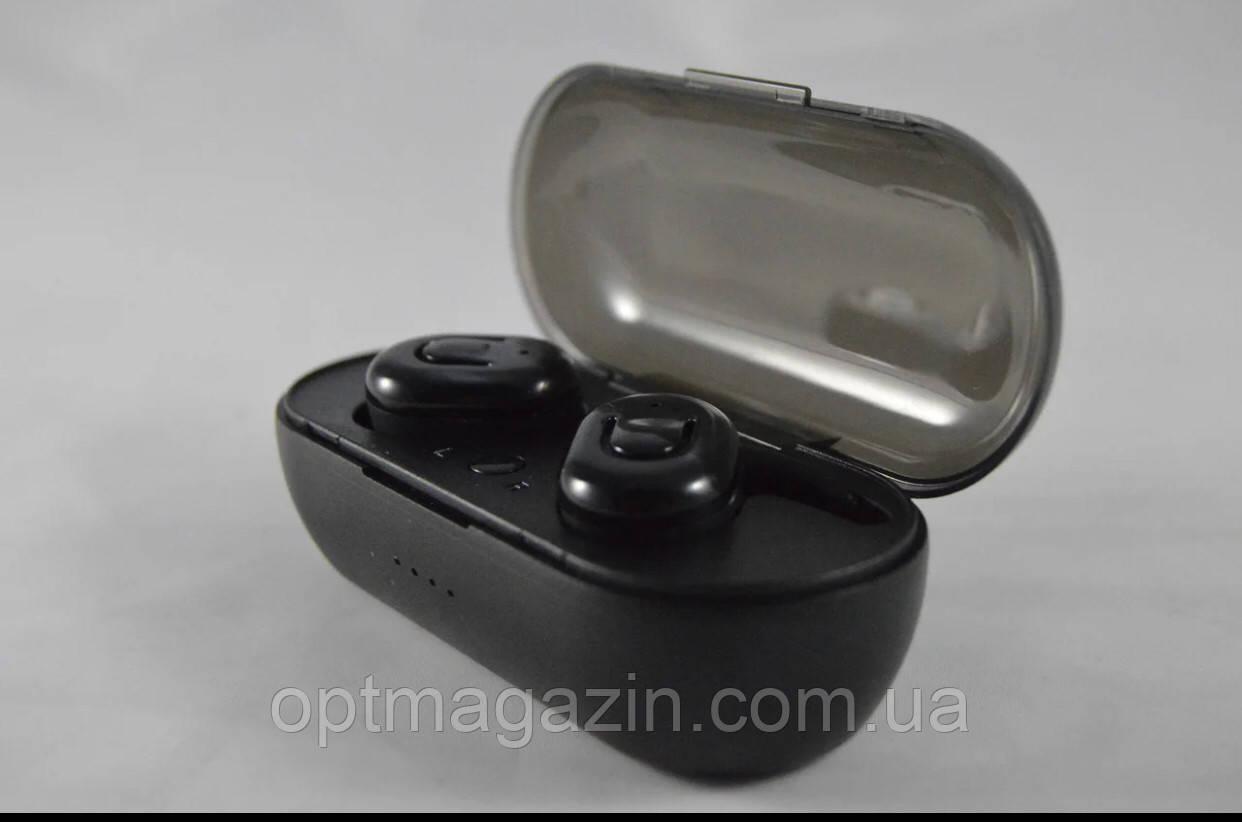Бездротові Bluetooth-навушники BASS v5.0