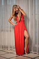 Длинное Платье Трансформер из трикотажного масла в пол Размеры 40-54