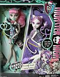 Набір Monster High Катрін де Мяу і Рошель Гойл - Rochelle Goyle Catrine Demew Ghoul Chat, фото 4
