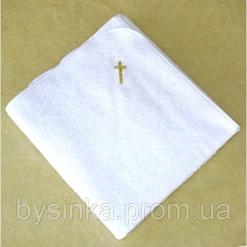 Крыжма для крещения 110 см*150 см