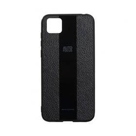 Кожаный чехол-накладка Combi Leather для Huawei Y5P European Ver