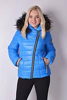 Куртка зимняя Letta Наоми мех (50-56), фото 1