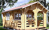 Беседка деревянная из профилированного бруса 5.6х4 м. низкая цена от производителя, фото 3