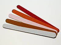 Набор пилок Salon Professional на деревянной основе узкая 5 шт