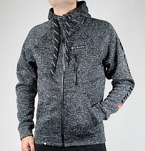 Зимняя спортивная кофта Columbia Winter (черно-серый)
