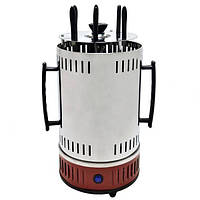 Электрошашлычница Domotec BBQ MS-7783, красная Электрошашлычница в Украине