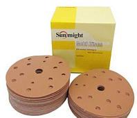 Круги наждачные Sunmight d150 на бумажной основе Р40