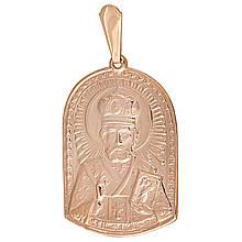 Кулон из красного золота (023460)