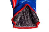 Боксерські рукавиці PowerPlay 3018 Сині 10 унцій, фото 2