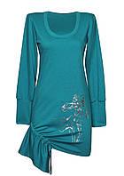 Женское платье ИРИСЫ на затяжке,размеры 46-64.