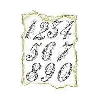 Штамп силиконовый Anniversary Nambers VIVA 4003 042 00