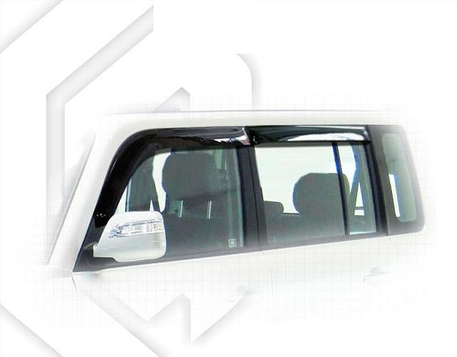 Вітровики Грейт Вол Ховер | Дефлектори вікон Great Wall Hover M2 2010