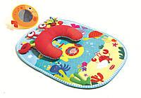 Развивающий коврик с подушкой «Подводный Мир»