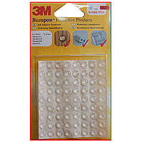 3M™ Bumpon™ SJ-5302 Самоклеящиеся амортизаторы Bumpon™, прозрачные, Ø 7,9 мм, h 2,2 мм, 72 шт.
