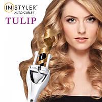 Стайлер для волос Instyler Tulip Auto Curler манящие кучеряшки кудри